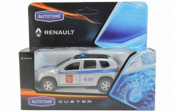 RENAULT Duster ДПС, серебристый