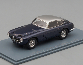 PEGASO Z-102 Berlinetta Touring (1955), metallic blue / silver