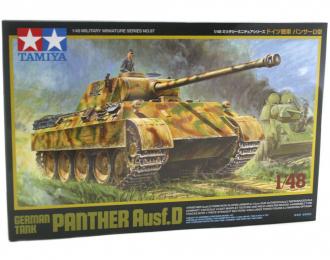Сборная модель Немецкий танкк Panther Ausf. D с фигурой командира