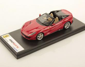 Ferrari 812 GTS (Rosso Corsa with Tonneau Cover Nero DS)