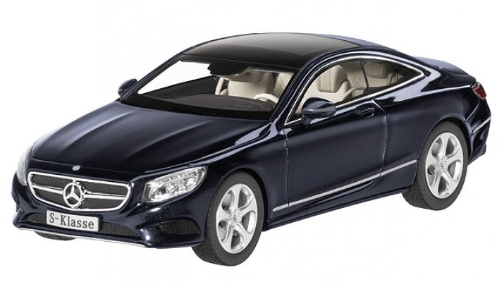 MERCEDES-BENZ S-Class C217 Coupe (2014), blue