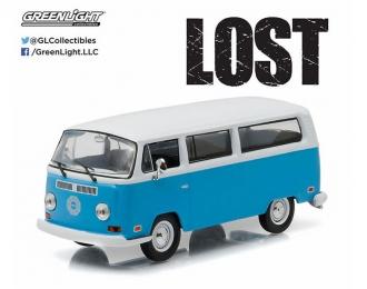 """VOLKSWAGEN T2a Bus """"Dharma Van"""" 1971 (из телесериала """"Остаться в живых"""") (Greenlight!!! Зеленые колёса!!!)"""