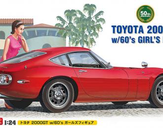 Сборная модель Автомобиль TOYOTA 2000GT w/GIRLS FIGURE