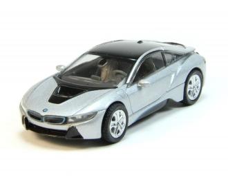 BMW i8 (i12), silver