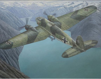 Сборнаяя модель Самолет Heinkel He111 H-6