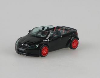 Škoda Fabia RS2000 Concept Car černá 1:43 - Abrex