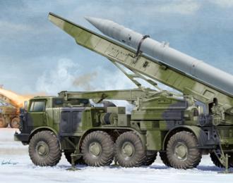 Сборная модель Ракетный комплекс  Russian 9P113 TEL w/9M21 Rocket of 9P52 Luna-M
