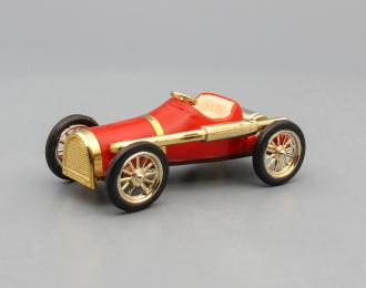 Машинка старинная #6, красный