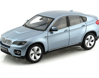BMW X6 Active Hybrid (E71), Blue water metallic Interior, Light Brown w/wood deco
