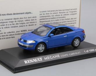RENAULT Megane Coupe Cabriolet, blue