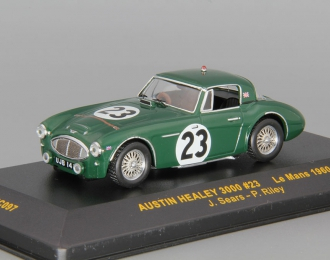 (Уценка!) AUSTIN-Healey 3000 #23 Le Mans J. Sears - P. Riley (1960), green