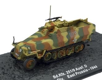 Sd. Kfz. 251/9 Ausf.D, 20. Pz.Div., East Prussia (1944)
