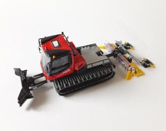 PistenBully 100 Snowgroomer, red / black