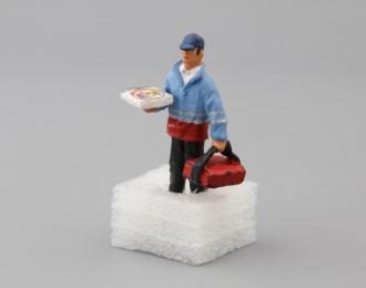Фигурка Мужчина курьер из пиццерии