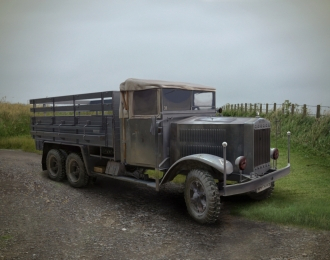 Сборная модель Krupp L3H163, Германский армейский грузовой автомобиль ІІМВ