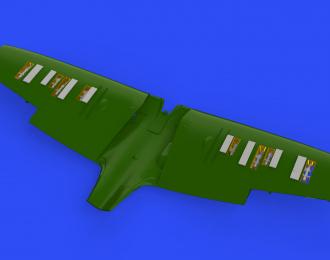 Дополнение к модели Spitfire Mk. I пулемётные отсеки