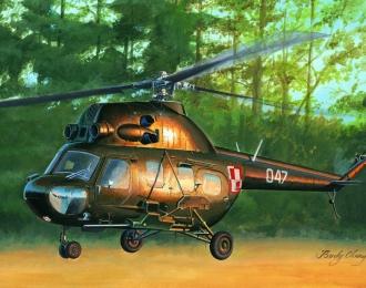 Сборная модель Вертолет Mil mi-2US Hoplite gunship variant