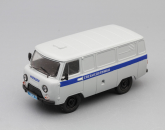 УАЗ 3741 Спецмедслужба, серый