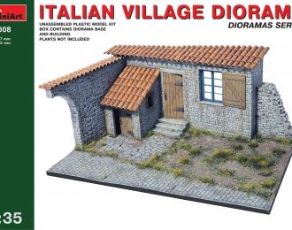 Сборная модель Наборы для диорам ITALIAN VILLAGE DIORAMA