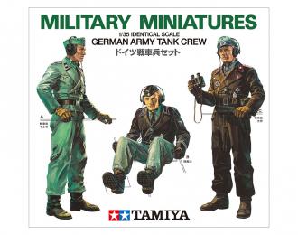 Сборная модель Немецкие танкисты 3 фигуры