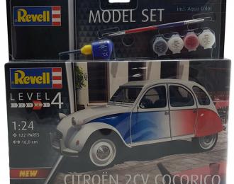 """Сборная модель Citroën 2CV """"Cocorico"""" (подарочный набор)"""