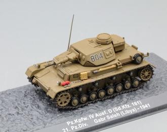 Pz.Kpfw. IV Ausf. D (Sd.Kfz. 161) 21. Pz.Div. Gabr Saleh (Libya) - 1941