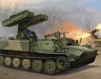 """Сборная модель Ракетная установка ЗРК 9К35 """"Стрела-10"""""""