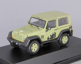 JEEP Wrangler 4х4 U.S.Army Limited Edition Hard Top (2012), light green