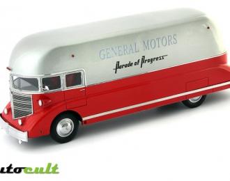 """General Motors Streamliner """"Parade of Progress"""" USA (1963), red"""