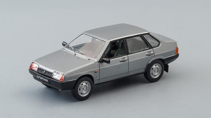 (Конверсия!) ВАЗ 21099 Спутник, Автолегенды СССР 56, темно-серый