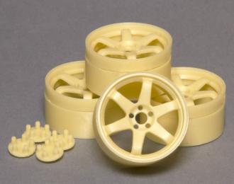 (Уценка!) Комплект дисков RAYS Volk Racing TE37 SL (углубленные) 18 дюймов