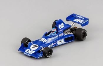 TYRRELL Ford 007 P.Depailler (1975), blue