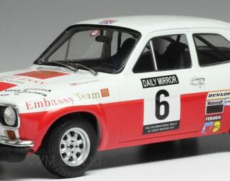 FORD Escort MK1 RS1600 #6 R.Clark - J.Porter RAC Rally 1971