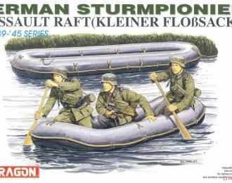 Сборная модель German Sturmpioniere w/Assault Raft (Kleiner Floßsack 34)