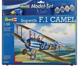 Сборная модель Британский истребитель Sopwith F.1 CAMEL (Подарочный набор)