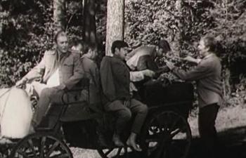 Тачанка (нового типа) из фильма, с пулеметом