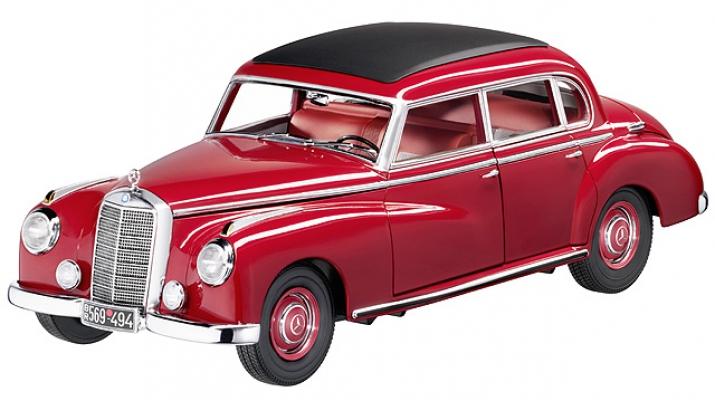 MERCEDES-BENZ 300 Adenauer W186 (1952), red