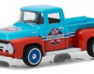 "FORD F-100 пикап ""STP"" 65th Anniversary 1954 Blue/Red"