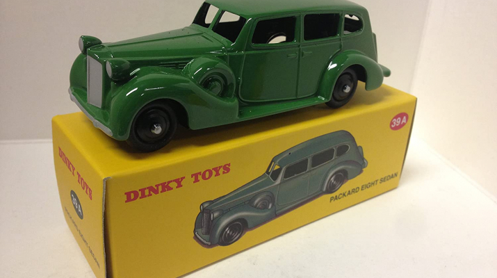 PACKARD Eight Sedan, green