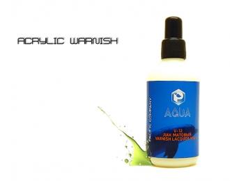 Лак матовый Aqua, 100 мл