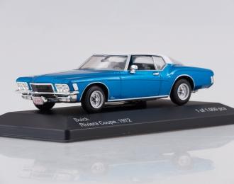 BUICK Riviera Coupe (1972), metallic blue/white