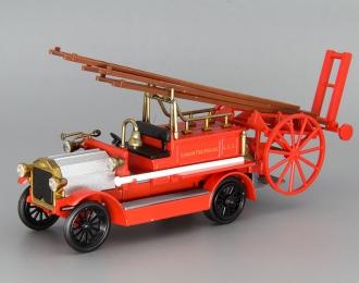 DENNIS London Fire Brigade LCC, red