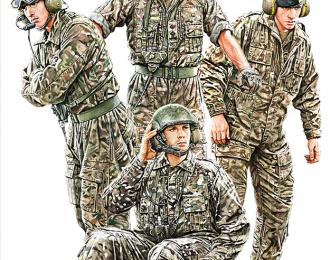 Сборная модель Современный британский экипаж БТТ