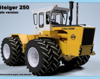 Сборная модель Трактор Raba-Steiger 250 (со спаренными колесами)