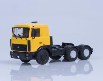 МАЗ 6422 седельный тягач поздняя кабина, желтый