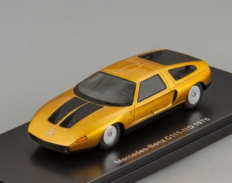 MERCEDES-BENZ C111-IID (1976), metallic dark orange