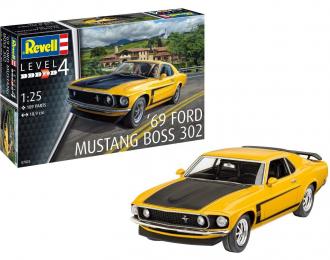 Сборная модель FORD Mustang Boss 302 1969
