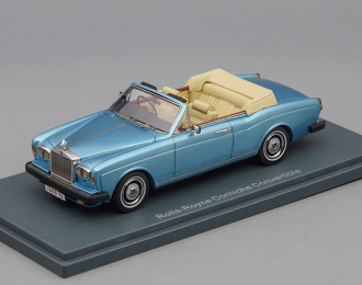 ROLLS ROYCE Corniche Convertible (1977), blue metallic