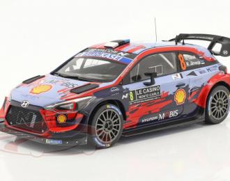 HYUNDAI i20 Coupe WRC #8 Tänak/Järveoja Rally Monte Carlo 2020