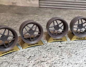 Комплект дисков HellaFlush Blitz type 03 (R19)